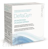 DeflaGyn aplikačná súprava vaginálny gél 150 ml + 28 aplikátorov