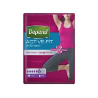 DEPEND Active-Fit nohavičky 6 kvapiek veľ. M 8 kusov