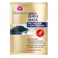 Dermacol Gold Elixir Mask 16ml (Omlazující maska s kaviárem, všechny typy pleti)