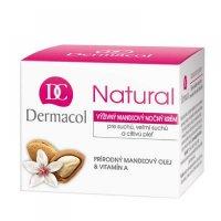 Dermacol Natural Mandlový Noční Krém 50ml (kelímek)