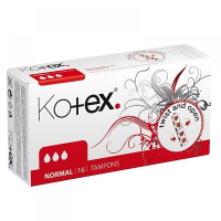 KOTEX Tampóny Normal 16 ks