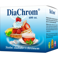 DiaChrom umelé sladidlo 600TBL
