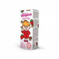 DOKTORKA SIRUPOVÁ kalciová s príchuťou Jahôd s vanilkou 100 ml