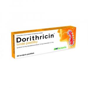 DORITHRICIN 20 tvrdých pastiliek