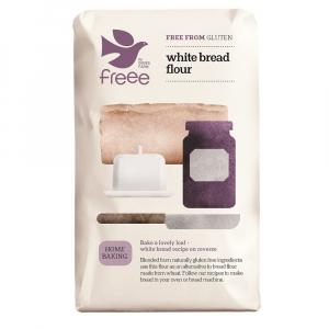 DOVES FARM Chlebová zmes biela bez lepku 1000 g
