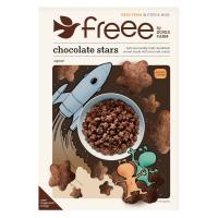 DOVES FARM-FREEE Čokoládové hviezdičky bez lepku 300 g BIO