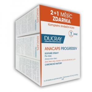 DUCRAY Anacaps Progressiv trio  3x 30 kapsúl