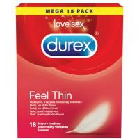DUREX Prezervatív Feel Thin 18 kusov
