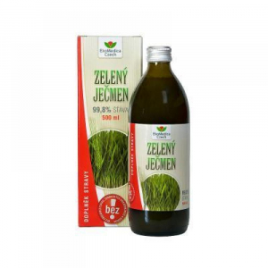 EKOMEDICA Zelený jačmeň 99,8% šťava 500 ml