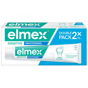 ELMEX Sensitive Whitening zubná pasta 2x 75 ml
