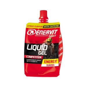 ENERVIT Liquid gel Competition citrón + kofeín 60 ml