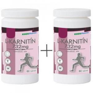 EP L-karnitin 732 mg duo pack 2 x 60 tabliet