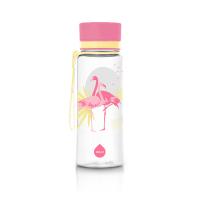 EQUA Plastová fľaša Flamingo 600 ml