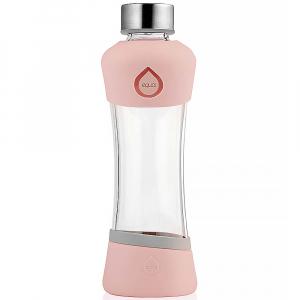 EQUA Sklenená fľaša Active Peach 550 ml