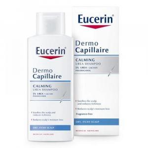 EUCERIN DermoCapillaire Šampón na vlasy 5% UREA pre suchú pokožku 250 ml