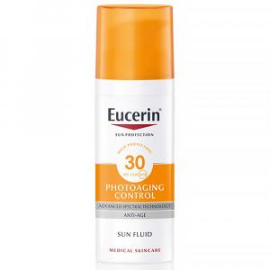 EUCERIN Sun Emulzia na opaľovanie na tvár proti vráskam Photoaging Control SPF 30 50 ml
