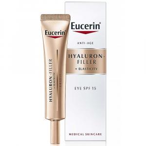 EUCERIN Eucerin Hyaluron-Filler + Elasticity Očný krém SPF 15 15 ml