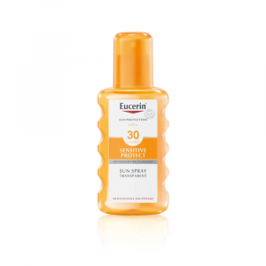 EUCERIN Sun Transparentný sprej SPF 30 na opaľovanie Dry Touch 200 ml