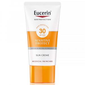 EUCERIN Sun Vysoko ochranný krém SPF 30 na opaľovanie na tvár 50 ml