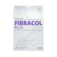 FIBRACOL PLUS kolagénový obväz s alginátom 10,2 cm x 22,2 cm 6 ks