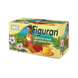 FIGURAN® Bylinná zmes pre peknú líniu nálevové vrecká 20x2 g