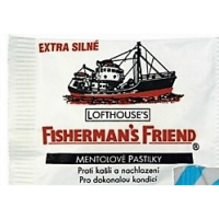 FISHERMANS Friend mentolové pastilky 25 g