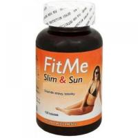 NATURAL MEDICAMENTS FitMe Slim&Sun 100 kapsúl na opaľovanie