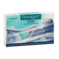 Floragyn Vaginálne čapíky 6ks