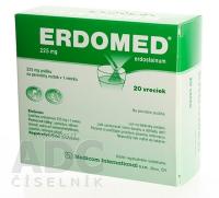 ERDOMED 225 mg plo por 1x20 vrecúšok