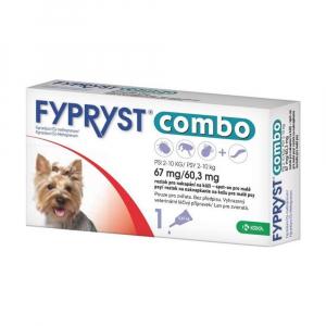 FYPRYST combo spot-on 67 mg/60,3 mg malé psy 2-10 kg 1x0,67 ml