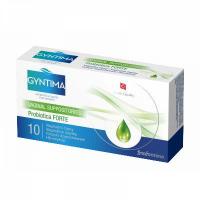 FYTOFONTANA Gyntima Probiotica vaginálne čapíky Forte 10 kusov