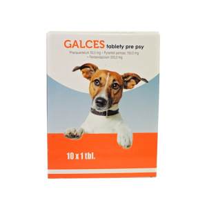 GALCES tablety pre psy 10 ks