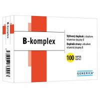 GENERICA B-komplex 100 kapsúl