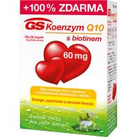 GS Koenzým Q10 60 mg 30+30 kapsúl ZADARMO