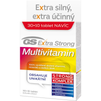 GS Extra Strong multivitamín 30 + 10 kapsúl