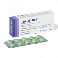 GUAJACURAN 200 mg x 30 tabliet