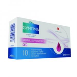 FYTOFONTANA Gyntima Deo vaginálne čapíky 10 kusov