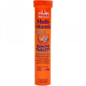 PEZZ-HAAS Multivitamín pomaranč 20 rozpustných tabliet