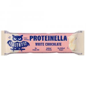 HEALTHYCO Proteinella chocolate bar s príchuťou biela čokoláda 35 g