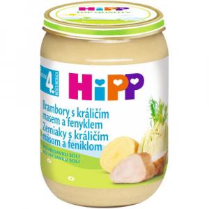 HiPP Zemiaky s králičím mäsom a feniklom 190 g