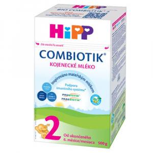 HiPP 2 BIO Combiotik Pokračovacie dojčenské mlieko od 6 - 12 mesiacov 500 g