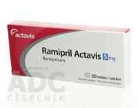 Ramipril Actavis 5 mg tbl 1x30 ks
