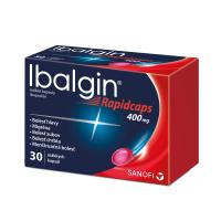 IBALGIN Rapidcaps 400 mg 30 kapsúl