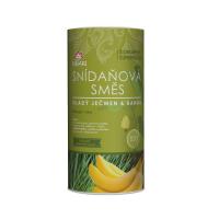 Bio raňajková zmes mladý jačmeň & banán 800 g