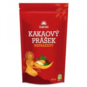 ISWARI Kakaový prášok nepražený BIO 125 g