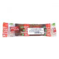 Jablkové trubičky bezlepkové s čokoládovou polevou 24g