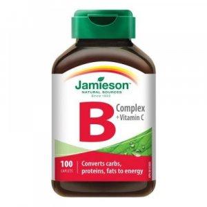 JAMIESON B-komplex s vitamínom C 100 tabliet