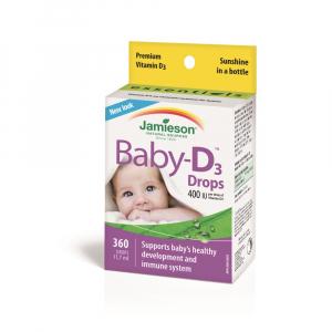 JAMIESON D3 400 IU Baby-D kvapky 11,7 ml