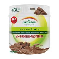 JAMIESON ESSENTIALS PLUS PROTEÍN prášok s príchuťou mliečnej čokolády 1x355 g