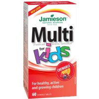JAMIESON Kids Multivitamin cmúľací 60 tabliet